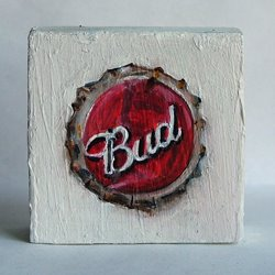'Bud' Bottle Top'