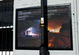 Posters on the wall of APG Works